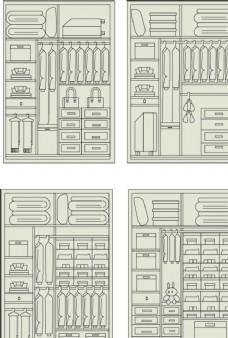 房屋摆设结构图