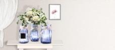 鲜花和花瓶