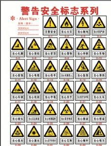 警告安全标志