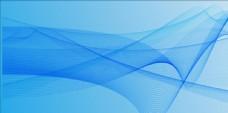 蓝色科技线条背景