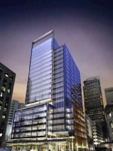 建筑 商业大厦 城市 城市夜景
