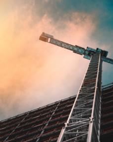 建筑 建筑工地 脚手架 鹰架