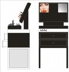 化妆品柜子