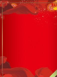 红色背景 红色 红色背景科技