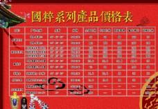 中国风国粹酒价格表
