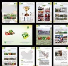 农业公司画册