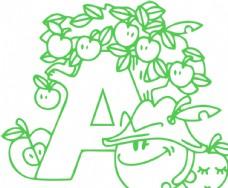 字母图片A
