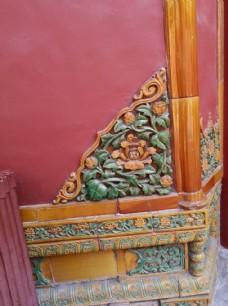 故宫琉璃照壁
