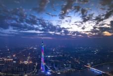 广州小蛮腰夜景