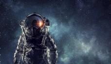 宇航员科幻图片素材