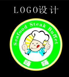 海鲜牛排自助餐 LOGO