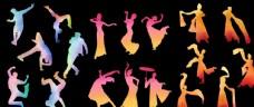 水袖舞街舞动作舞蹈动作