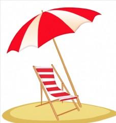 夏日沙滩海报