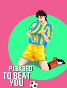 足球卡通人物