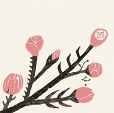 素雅花卉图案设计