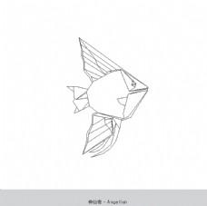 折纸神仙鱼