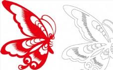 矢量蝴蝶图