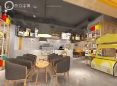 奶茶店 水吧 店面设计 连锁店