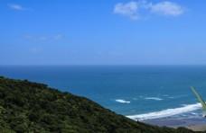 新西兰皮哈海滩风光