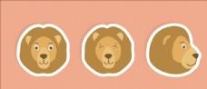 矢量狮子集合