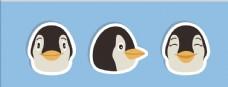 矢量企鹅集合