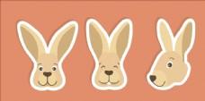 矢量兔子集合
