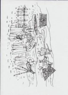 金朝草原蒙古包场景