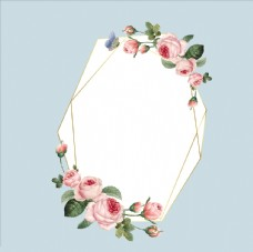 牡丹花花边