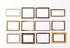 卡通木质相框素材