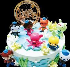 卡通小人物蛋糕
