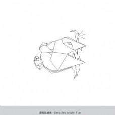 折纸深海琵琶鱼