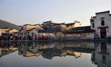 水乡古镇特色古建筑唯美