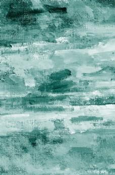 綠色水彩油畫紋理廣告海報背景圖