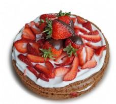 新鲜草莓奶油蛋糕