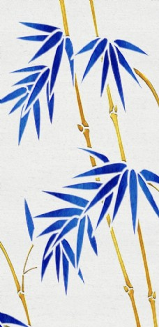 现代简约创意竹子质感玄关装饰画