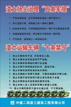 五條軍規、十條禁令