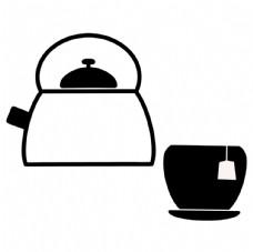 茶具 水壶 茶杯