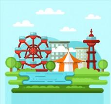 创意城市周边游乐园