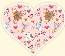 爱情鸟情人节素材