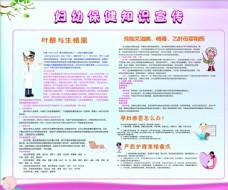 妇幼保健知识宣传栏