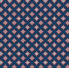 几何针织印花