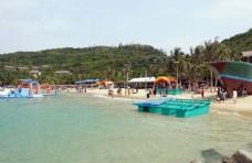 海边分界洲岛游玩场景