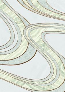 现代简约淡雅抽象几何装饰画
