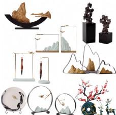 现代中式禅意软装饰品摆件