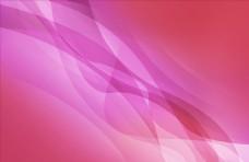 粉紫色曲线波浪背景