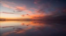 延时摄影 流动的云