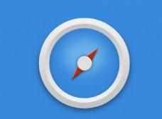 UI界面设计 指南针图标