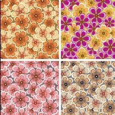花纹花蕊矢量图