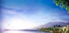 湖景  别墅