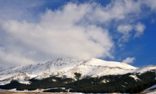 新疆赛里木湖秀丽风景